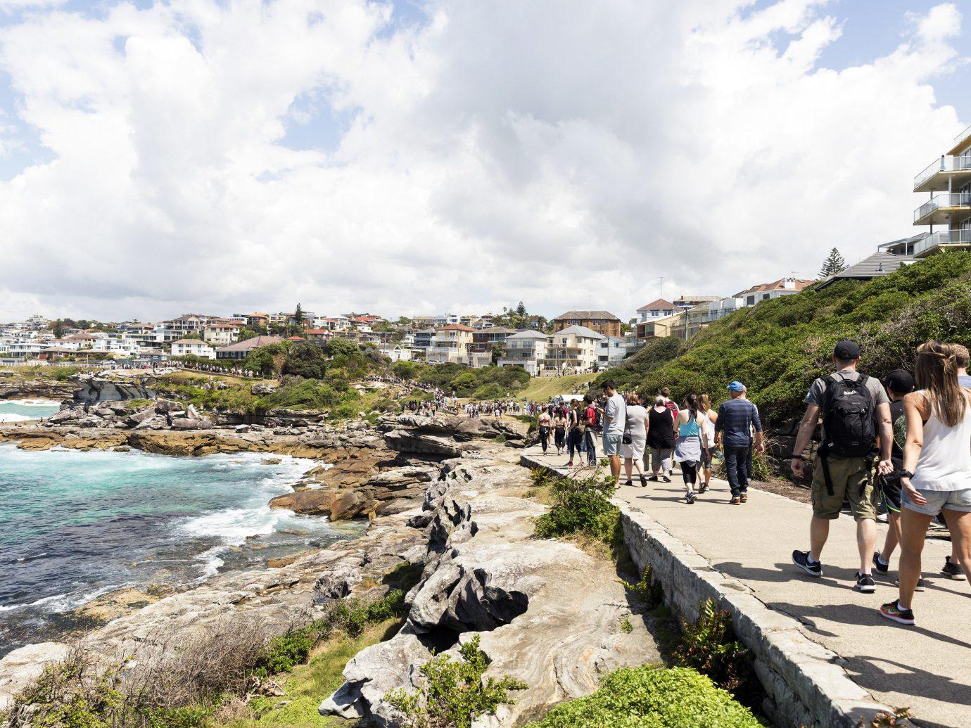 Coastal walk from Bondi to Coogee