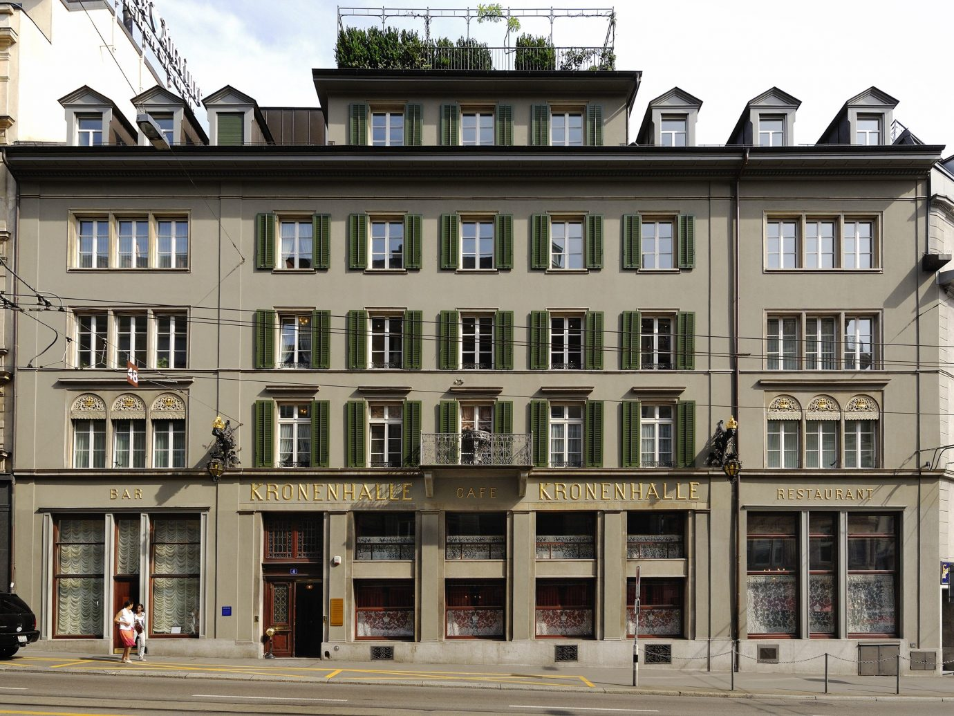 Kronenhalle, Zurich, Switzerland