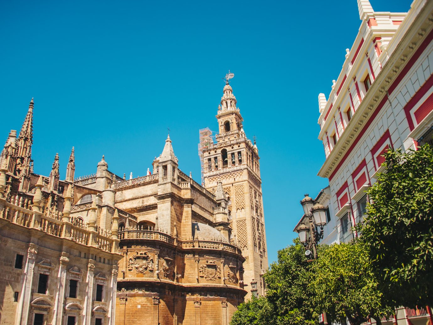 La Giralda tower in Seville, Spain.