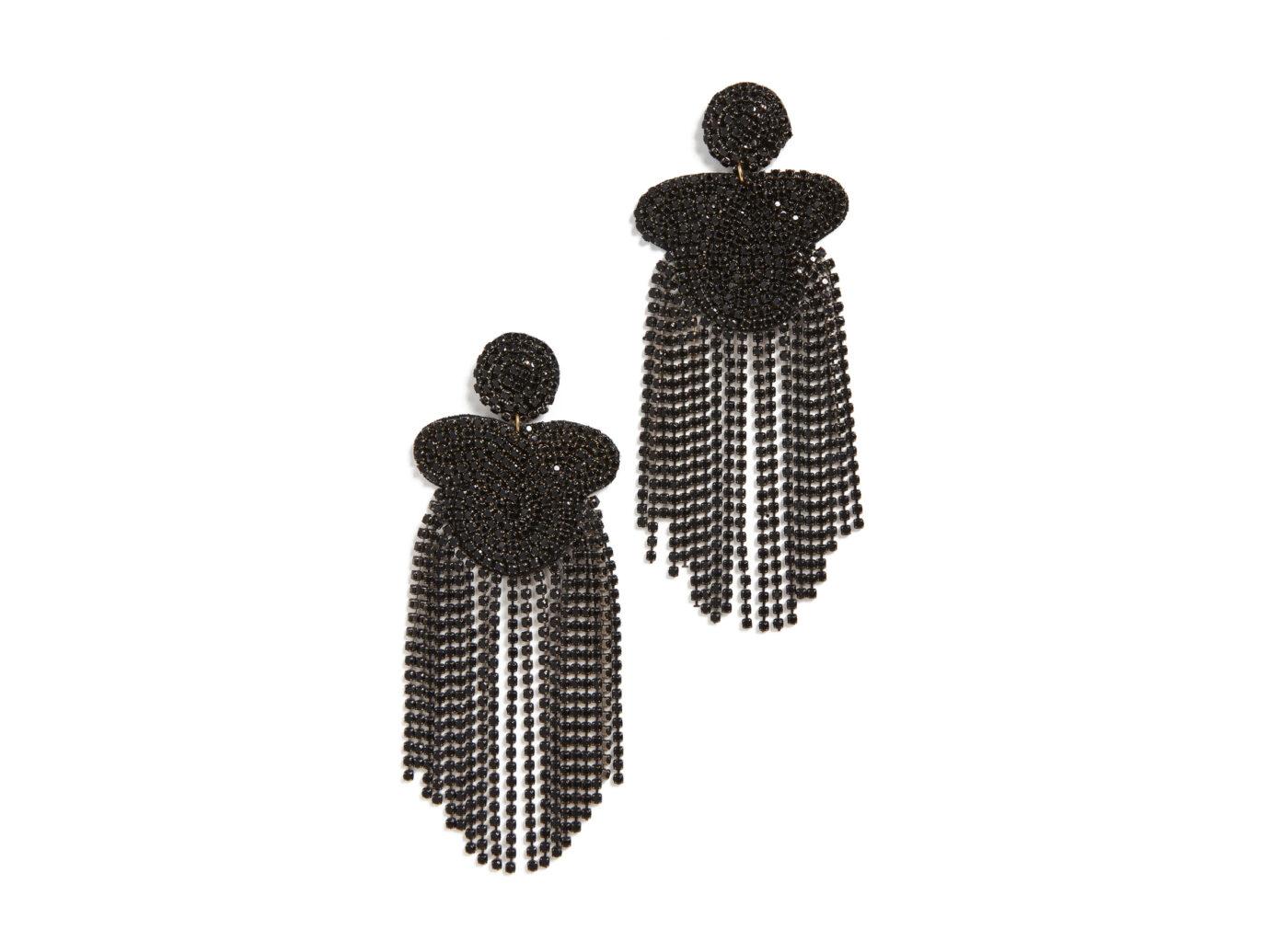Kenneth J Lane Crystal Waterfall Earrings