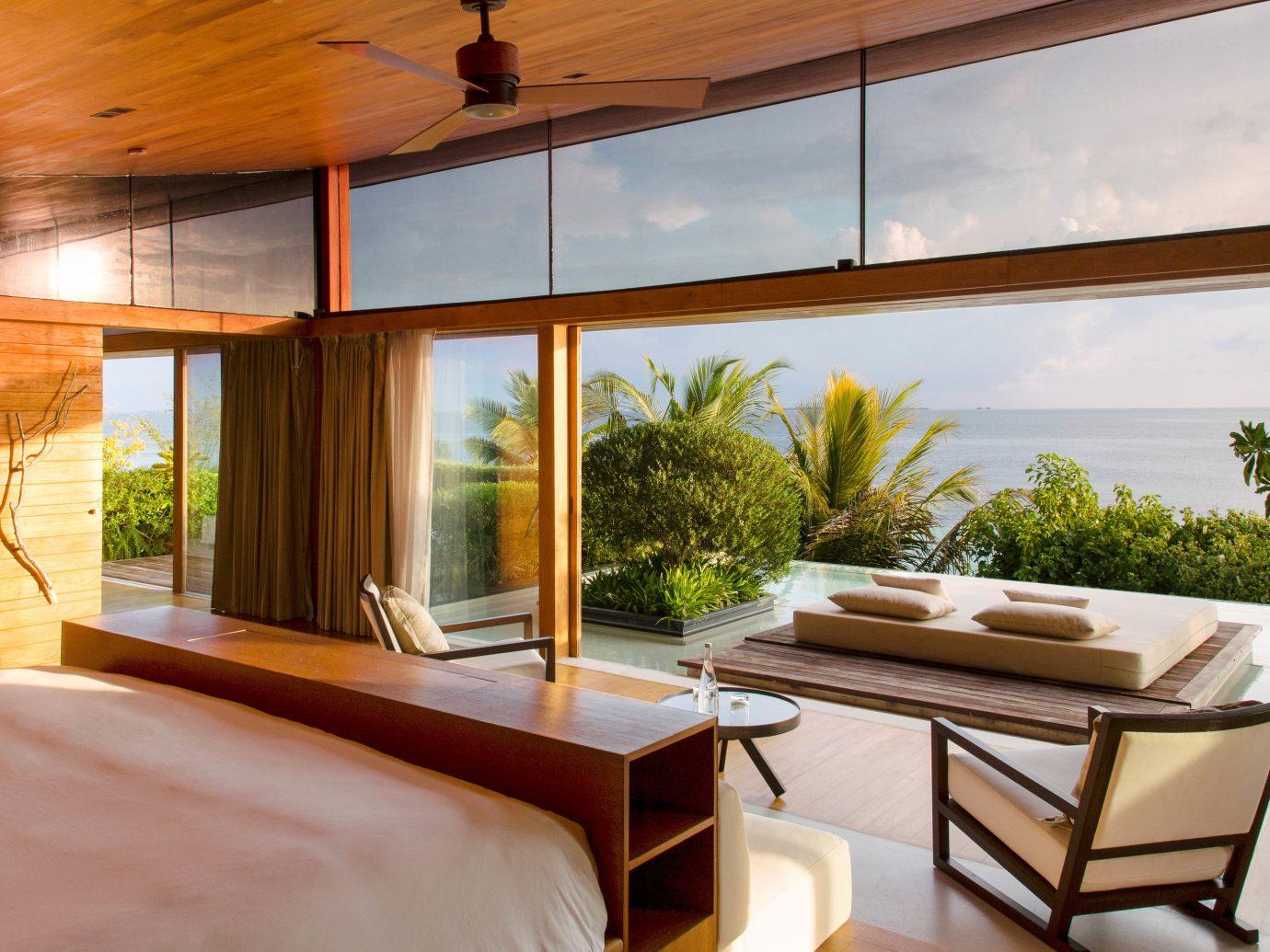 bedroom at Coco Prive in the Maldives