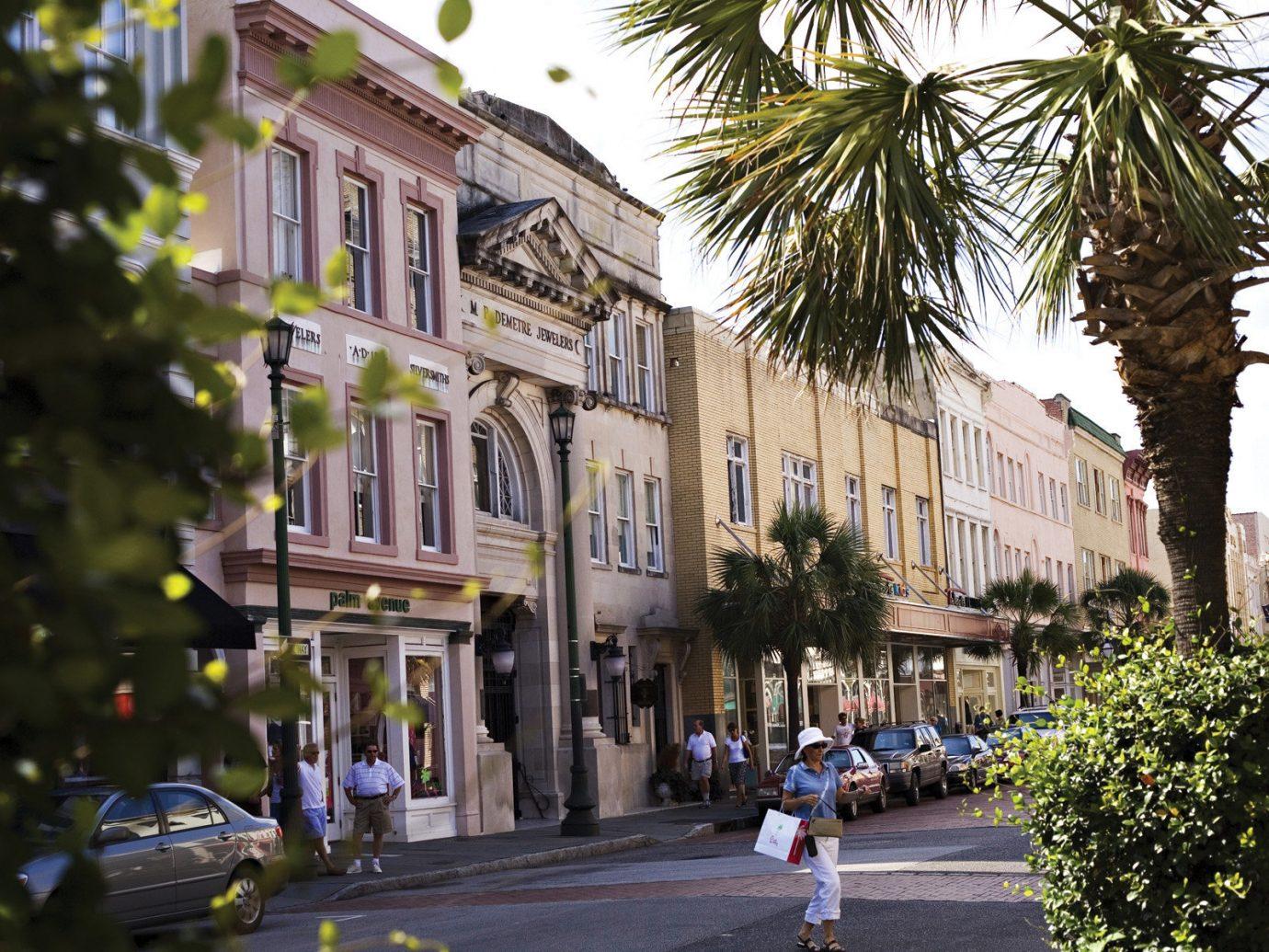 Charleston row houses