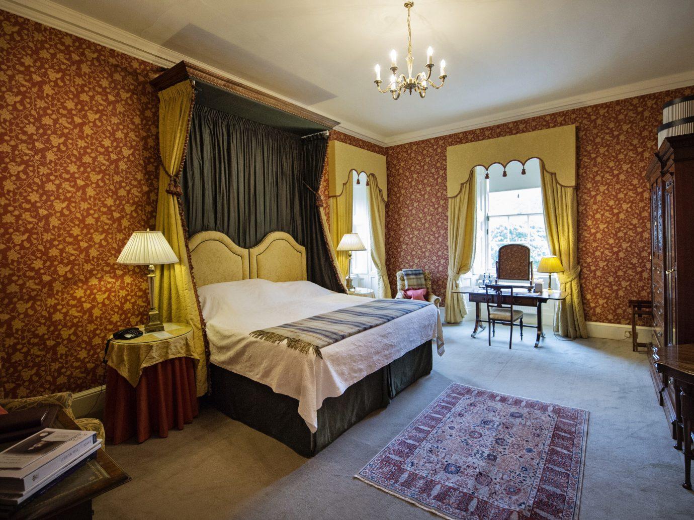 Bedroom at Glenapp Castle