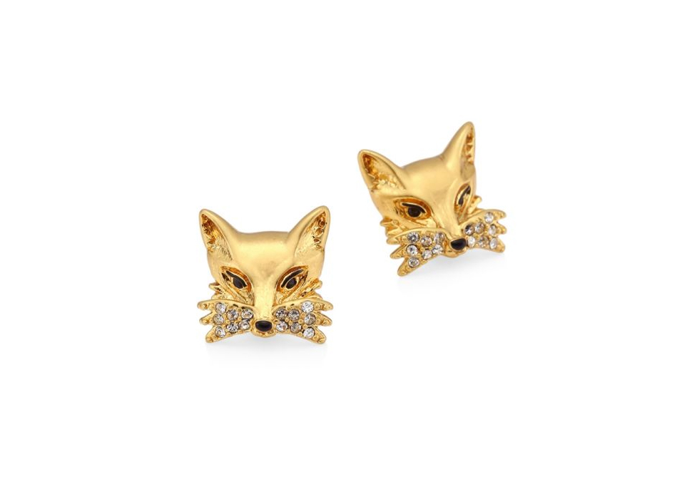 Kate Spade New York So Foxy Stud Earrings