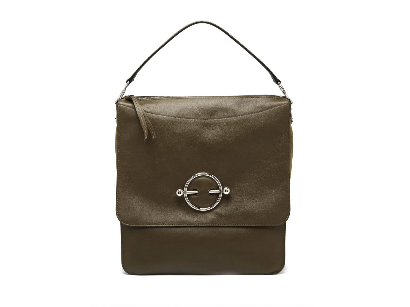 JW-Anderson Disc Leather Hobo Bag