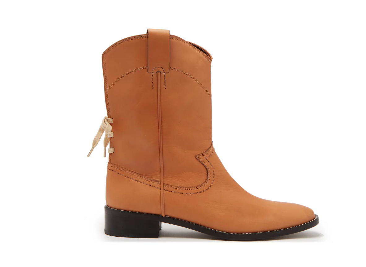 See by Chloe Western Leather Boots