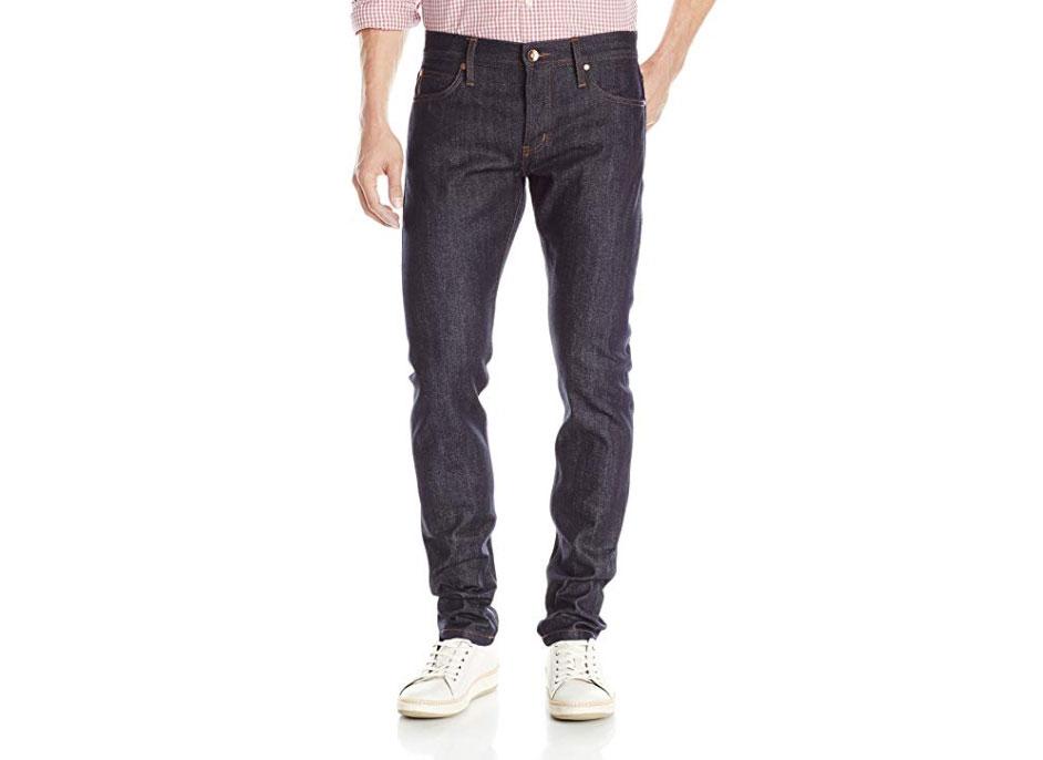 The Unbranded Brand Men's UB401 Tight Indigo Selvedge Jean