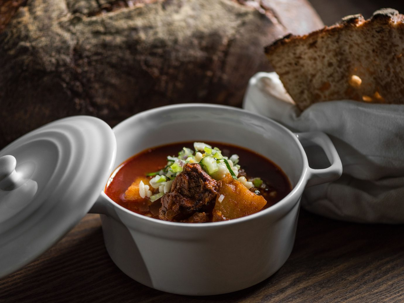 goulash at Stand 25 bistro