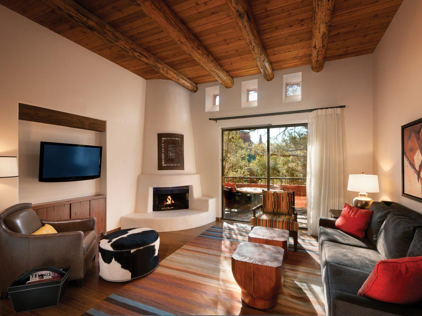 Living room at Enchantment Resort