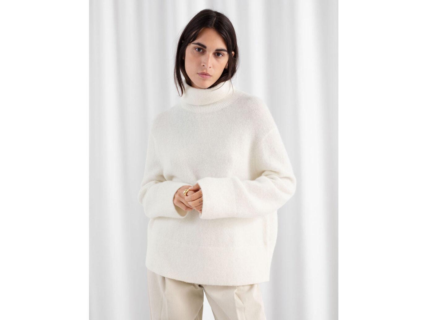 & Other Stories Alpaca Blend Turtleneck Sweater