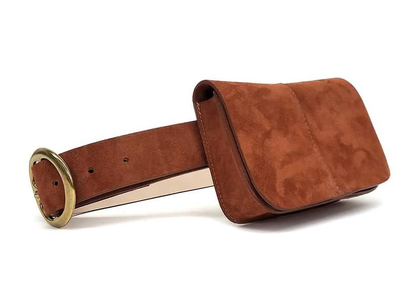 Sidney Suede Belt Bag