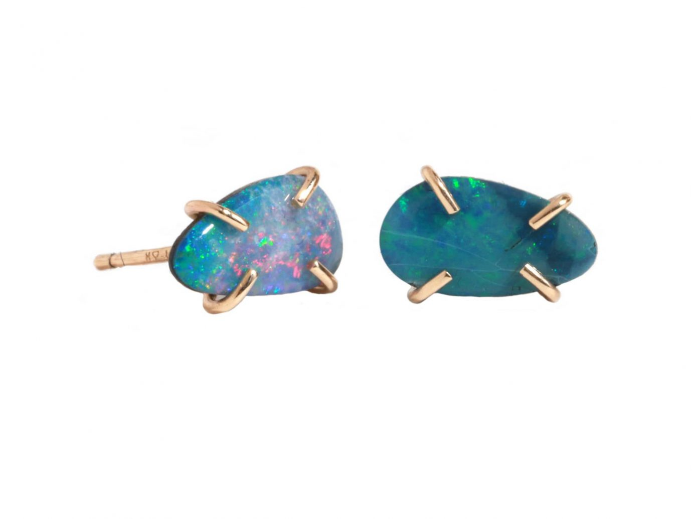 MELISSA JOY MANNING Opal Post Earrings