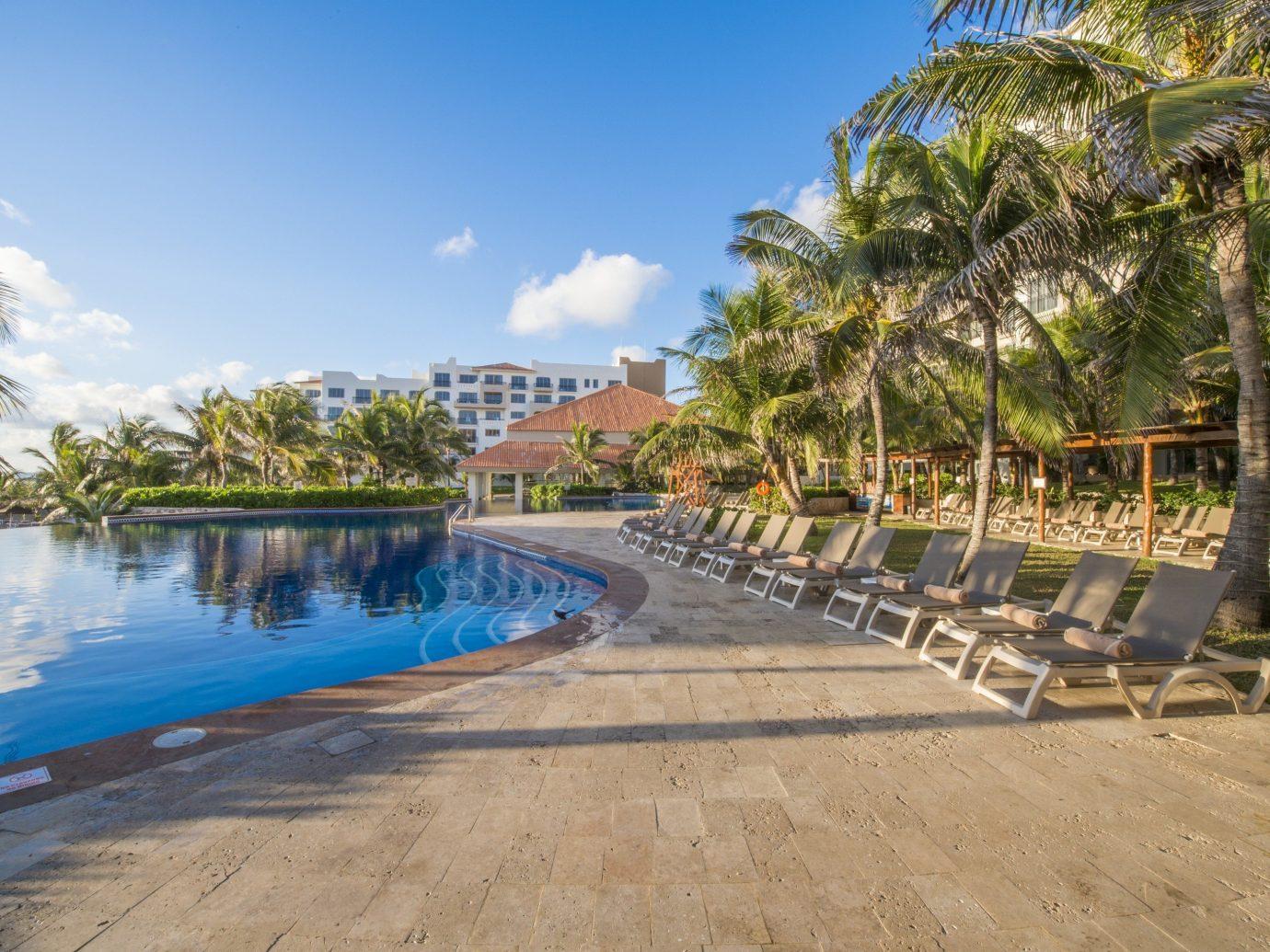 View of pool at Fiesta Americana Condesa Cancun