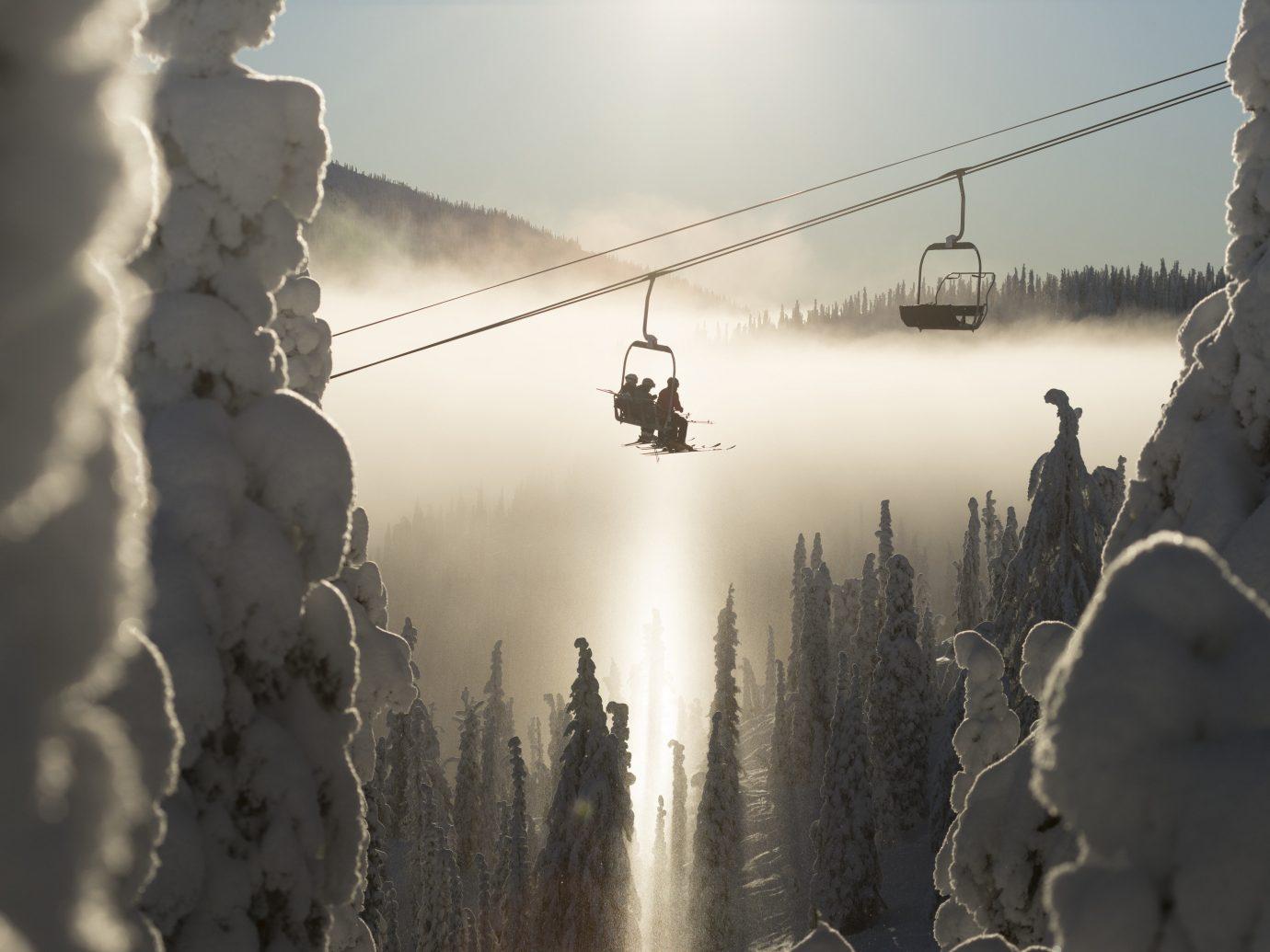 Ski lift at Red Mountain