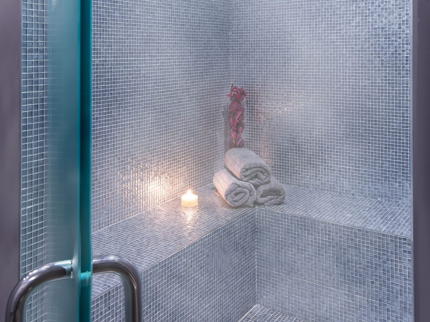 Steam room at Haven spa in Soho