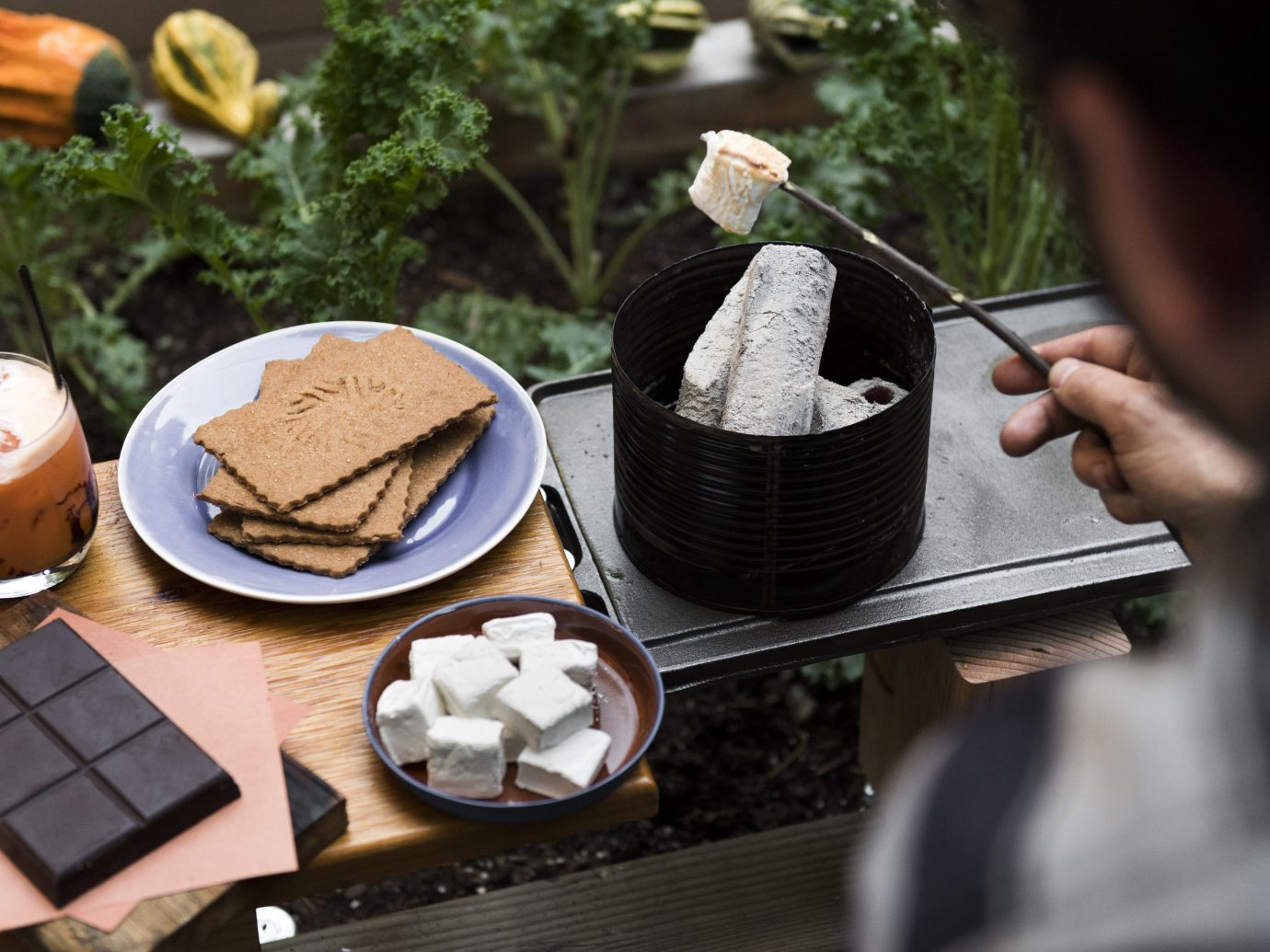 S'mores at Olmsted