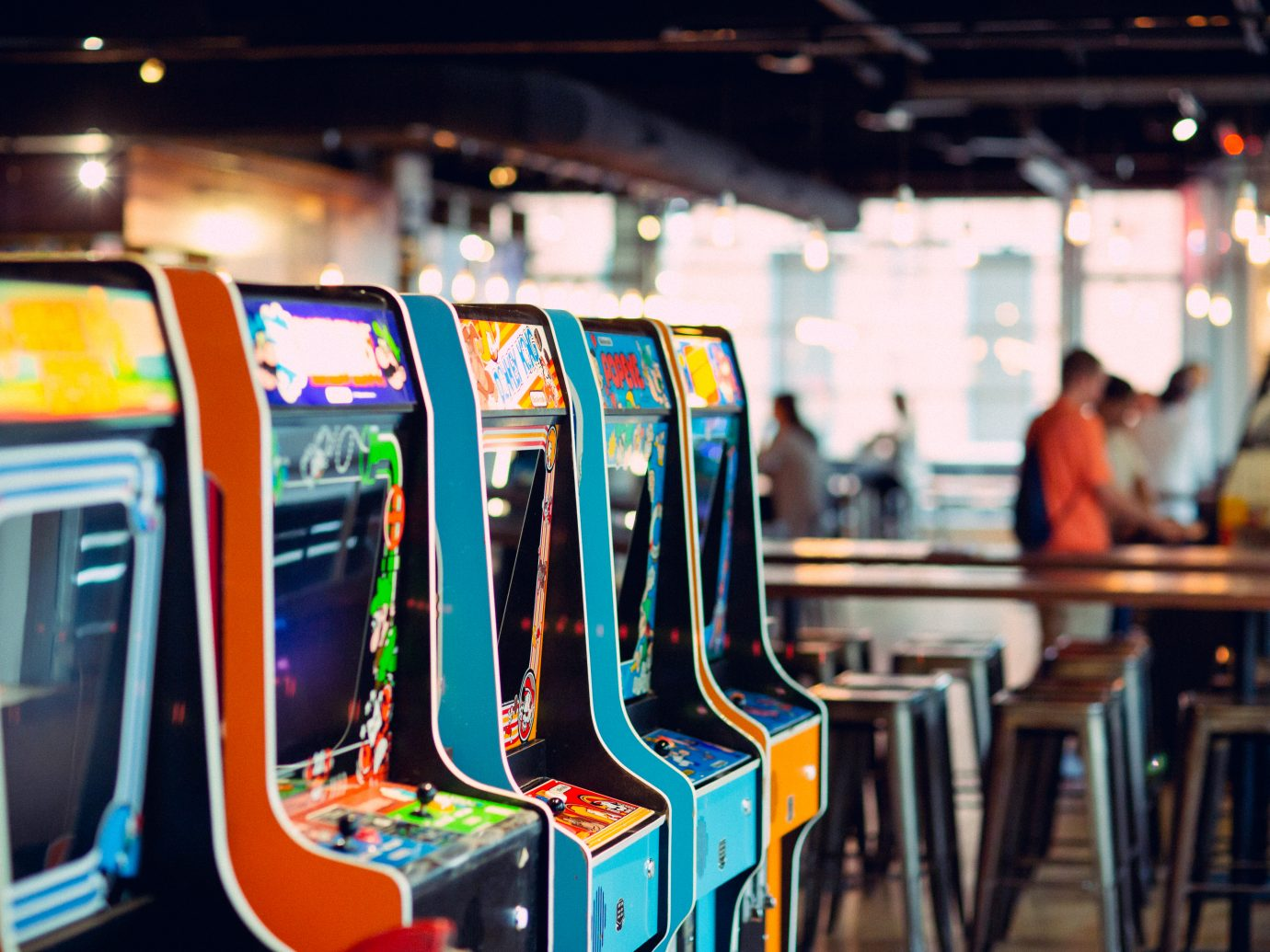 video games at 16 Bit Bar + Arcade
