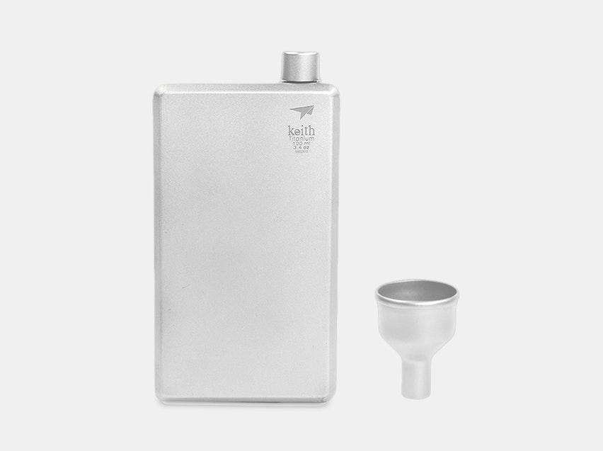 Keith Titanium Pocket Flask