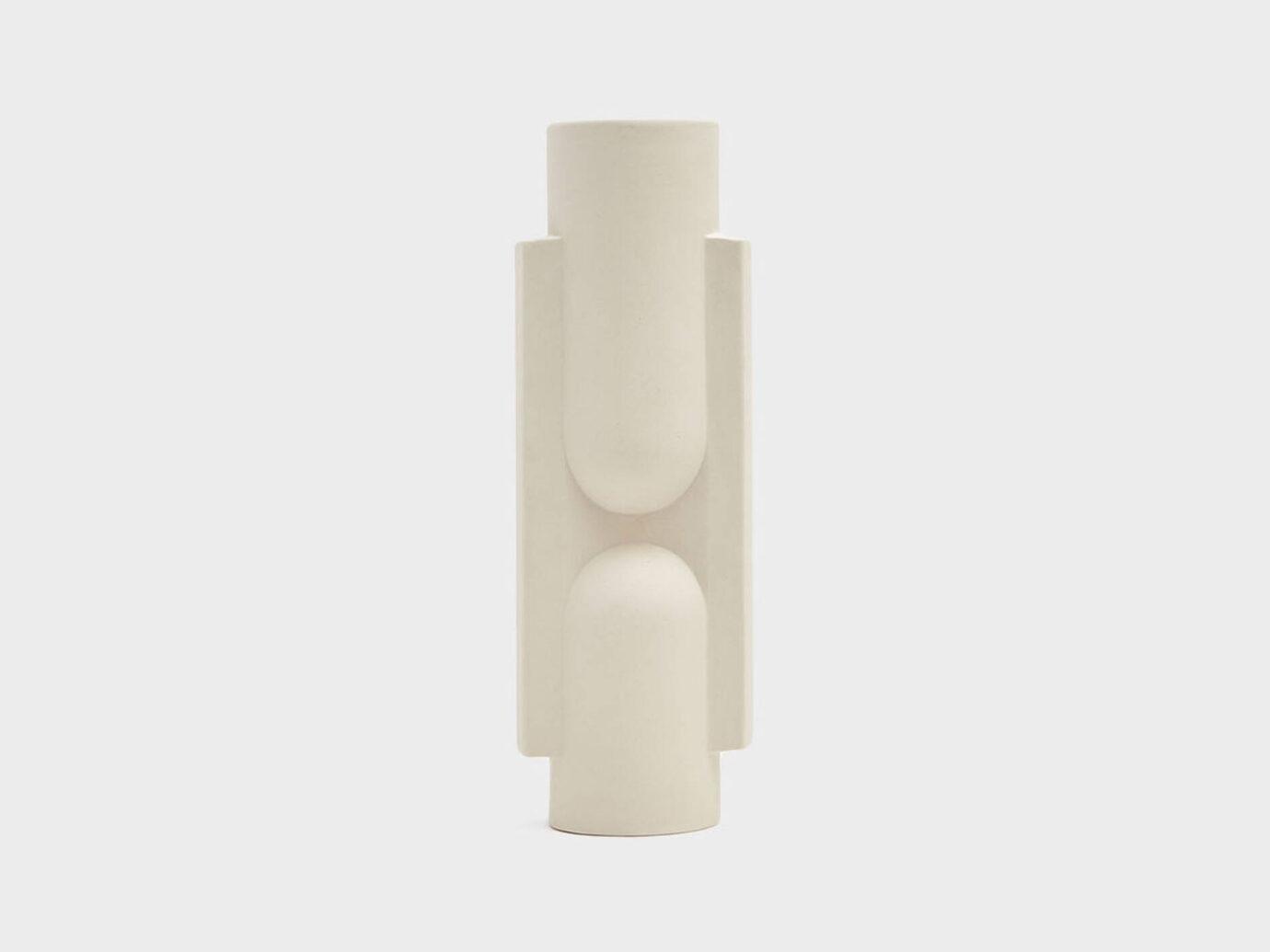 Light + Ladder Kala Slender Porcelain Vase