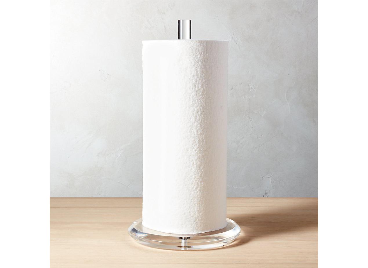 Acrylic Paper Towel Holder