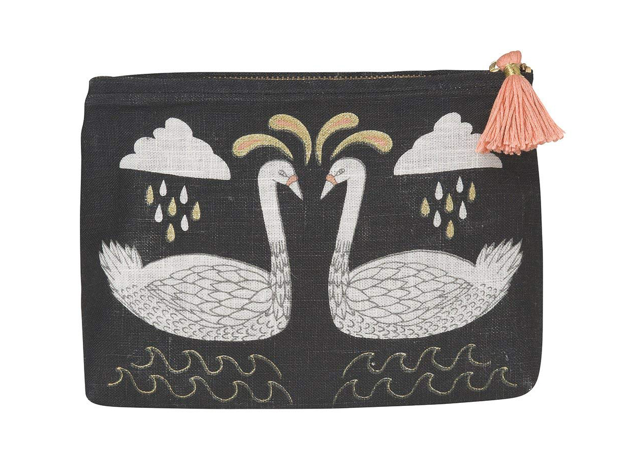 Danica Studio Linen Cosmetic Bag