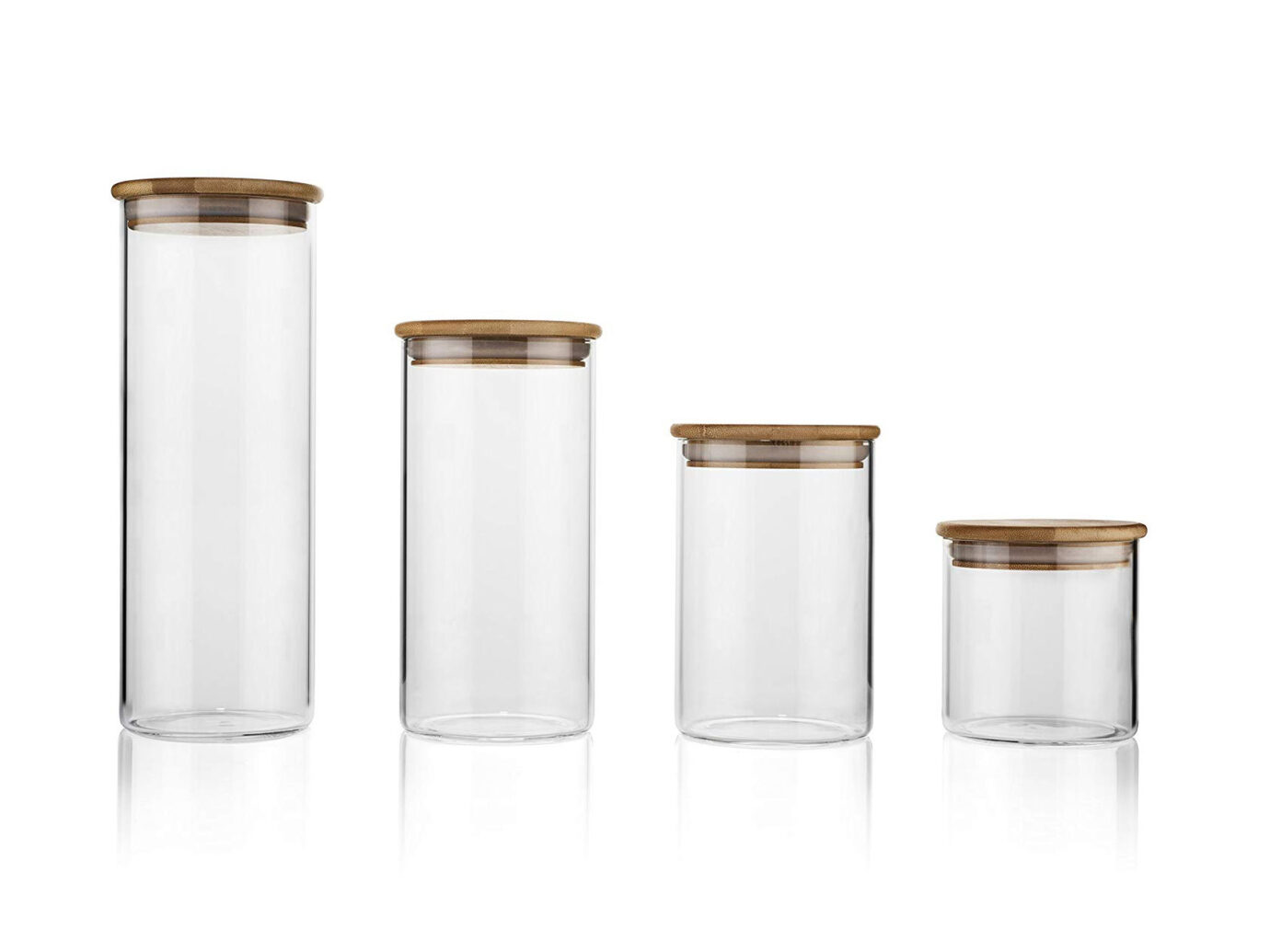 Airtight Glass Food Storage Containers with Lids
