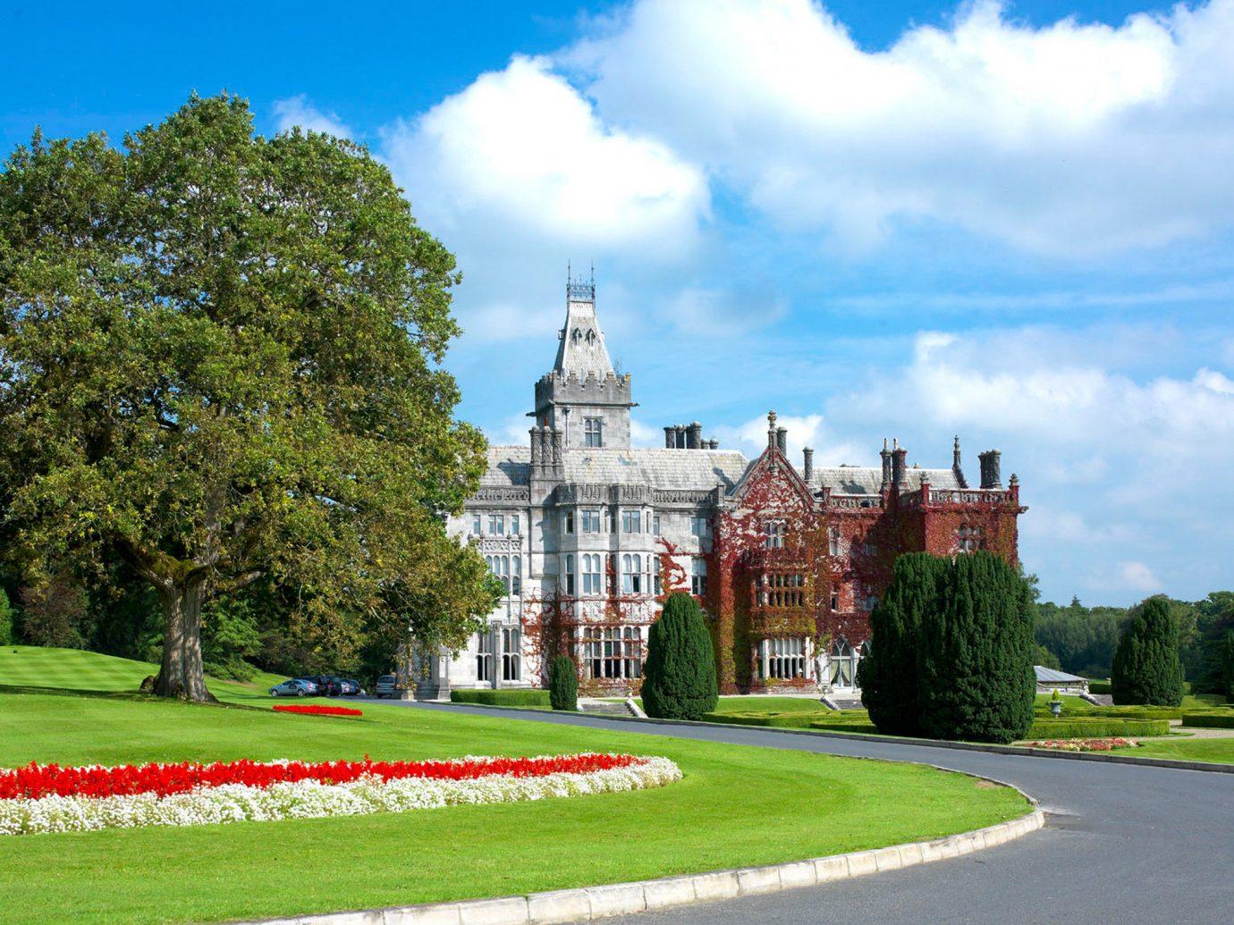 Grounds at Adare Manor in Ireland