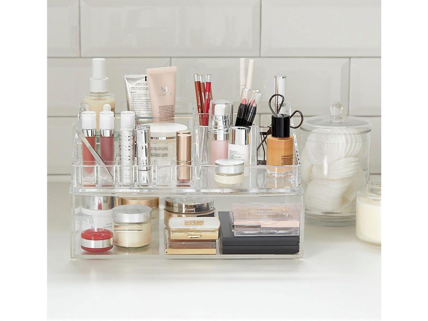 Luxe Acrylic Makeup Organizer Storage Kit