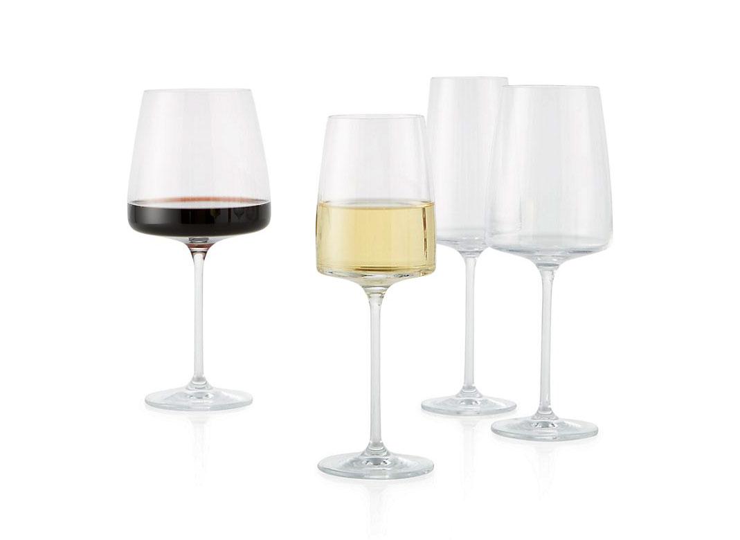 Crate & Barrel Level Wine Glasses