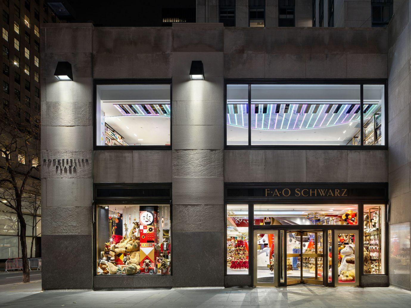 FAO Schwartz store exterior