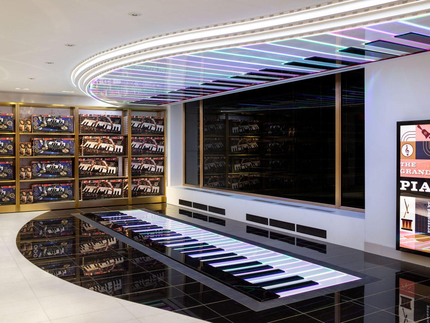 FAO Schwartz large floor piano