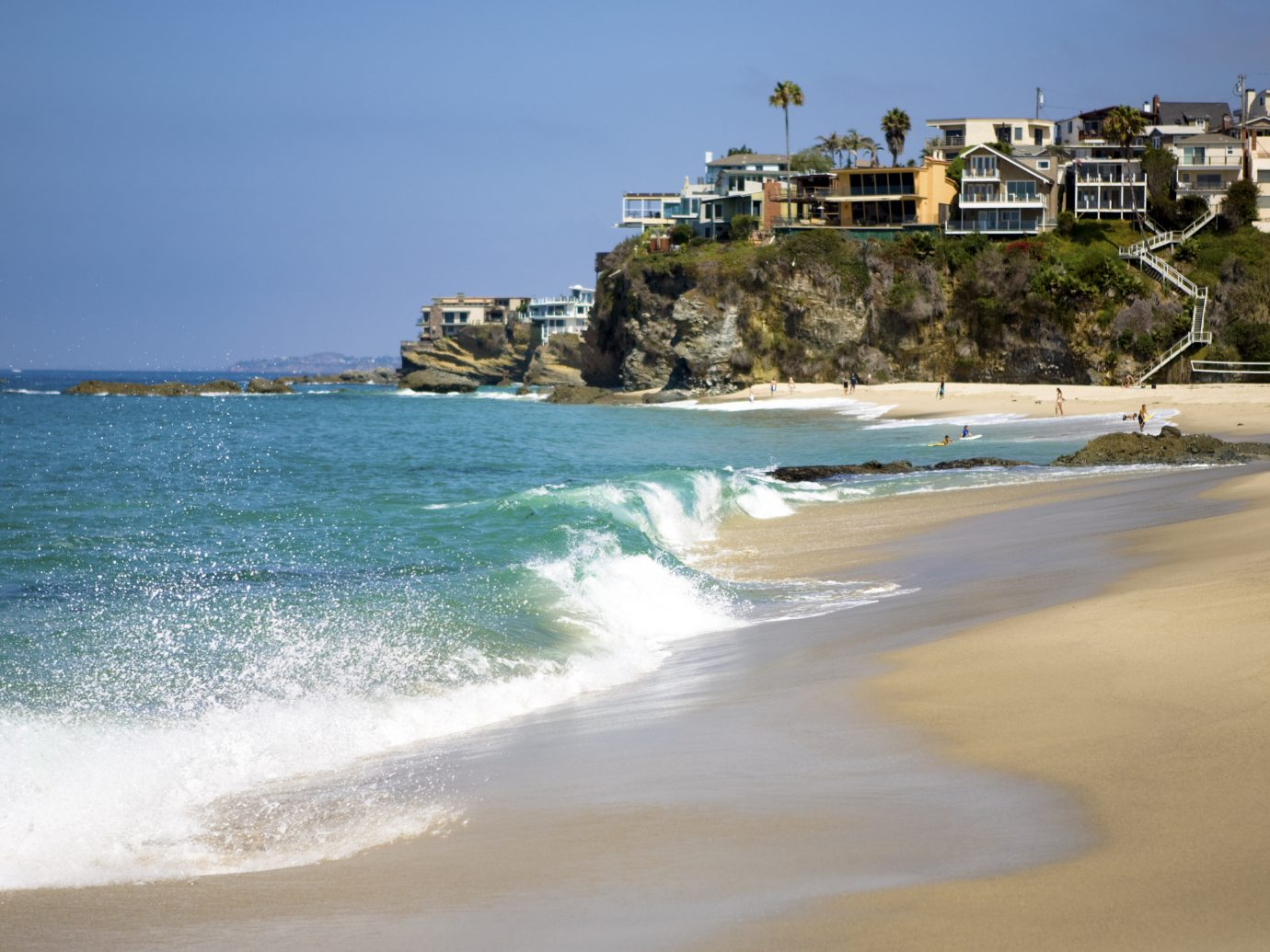 A view from one of the many Beaches in Laguna Niguel