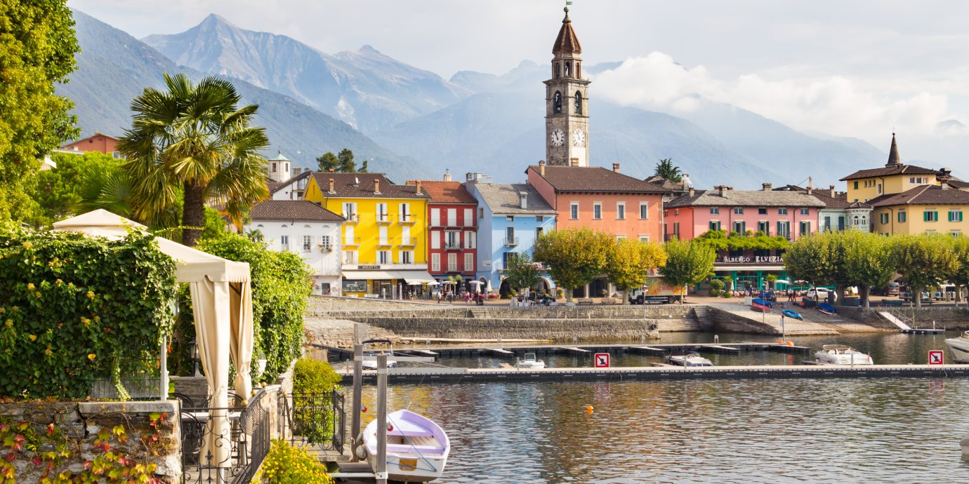 view of Ascona, Switzerland