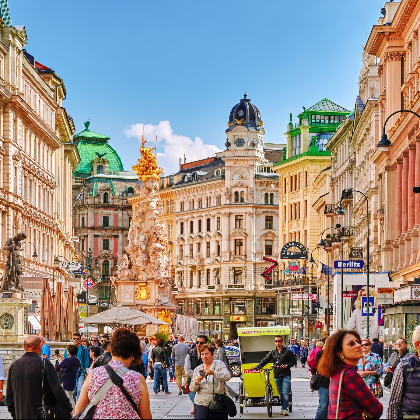 Cityscape view of Vienna Austria