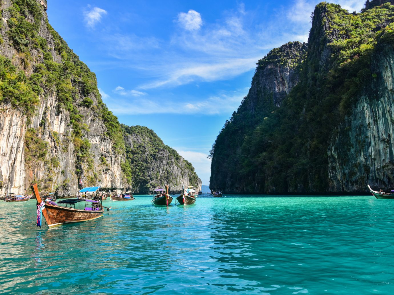 Pileh Lagoon in Ko Phi Phi Island - Thailand