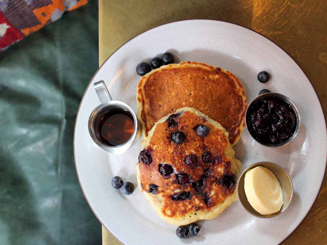 Blueberry pancakes at Best Girl in LA