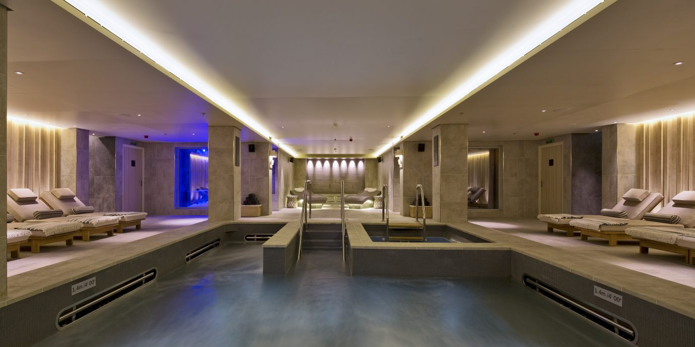 View of the spa on a viking cruise