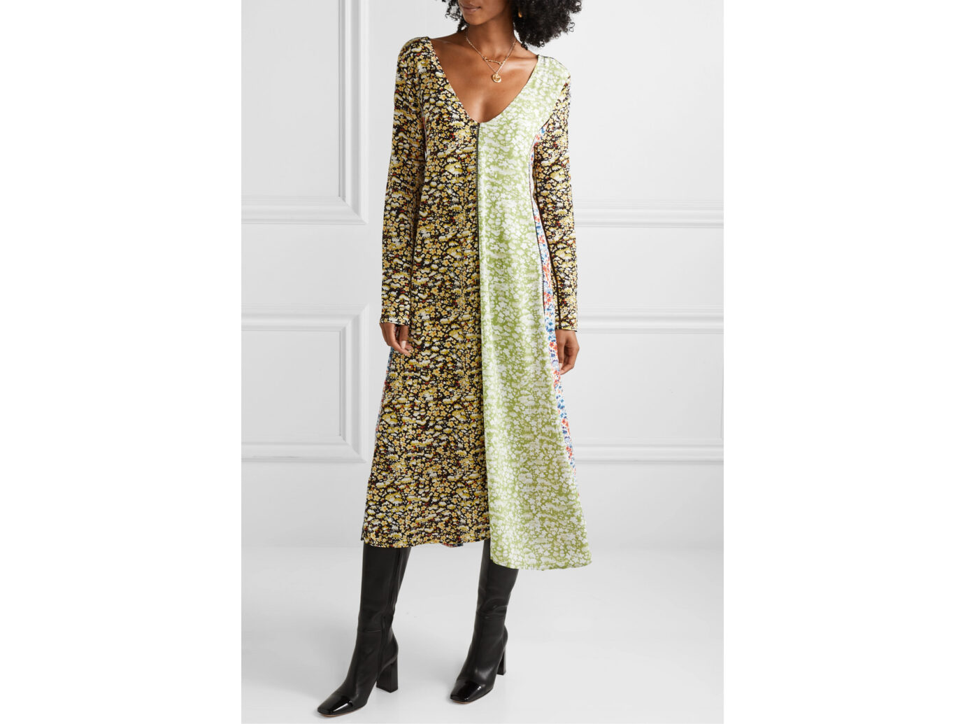 Stine Goya Maca Midi Dress