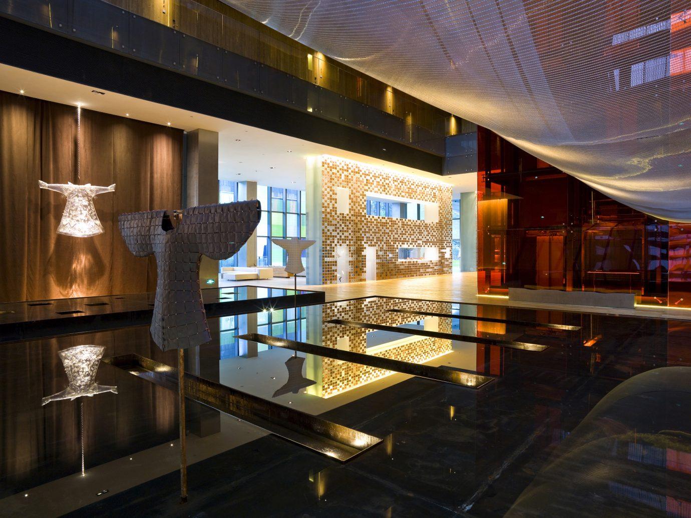 Atrium of The Opposite House in Beijing