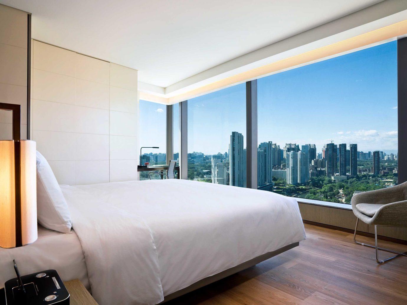 Bedroom at EAST Beijing hotel