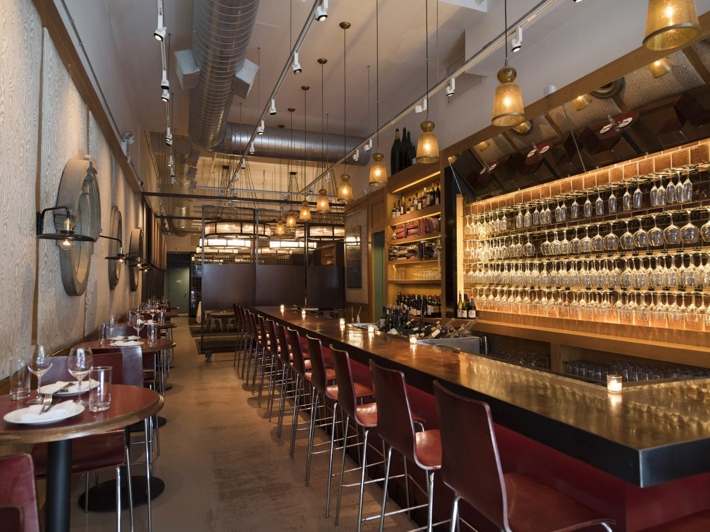 Wine bar at Corkbuzz in Union Square