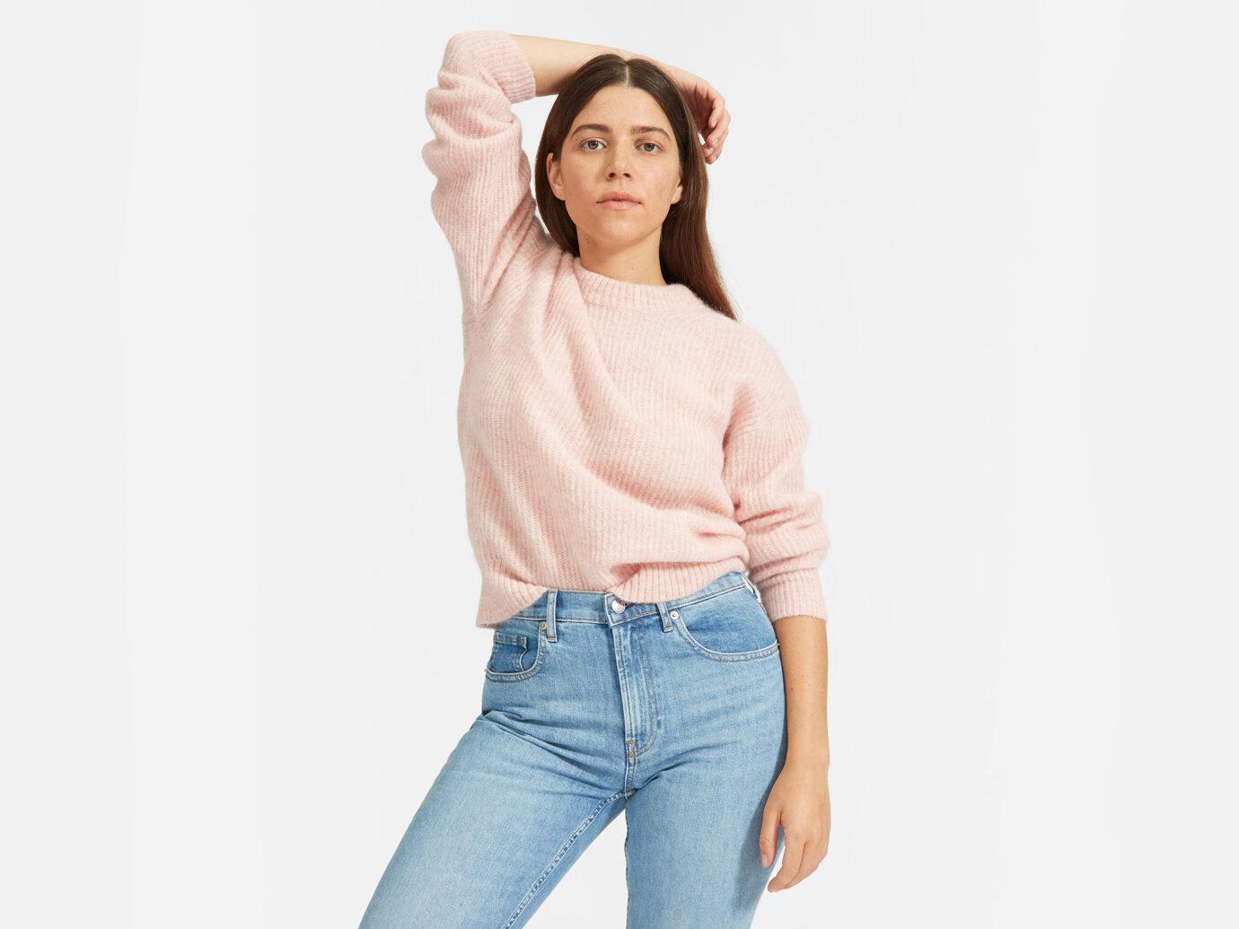Everlane Oversized Alpaca Sweater