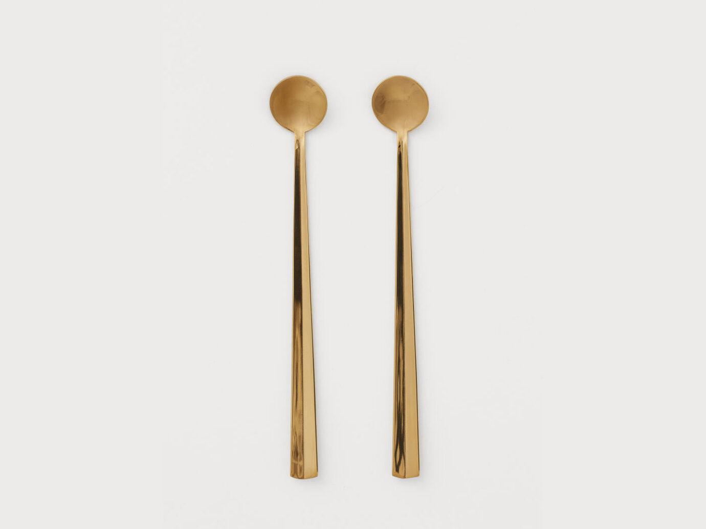 2-pack Long Teaspoons