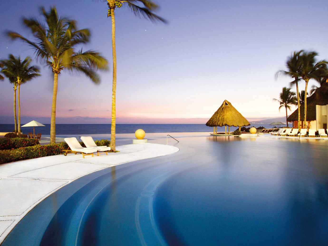 Pool in Mexico