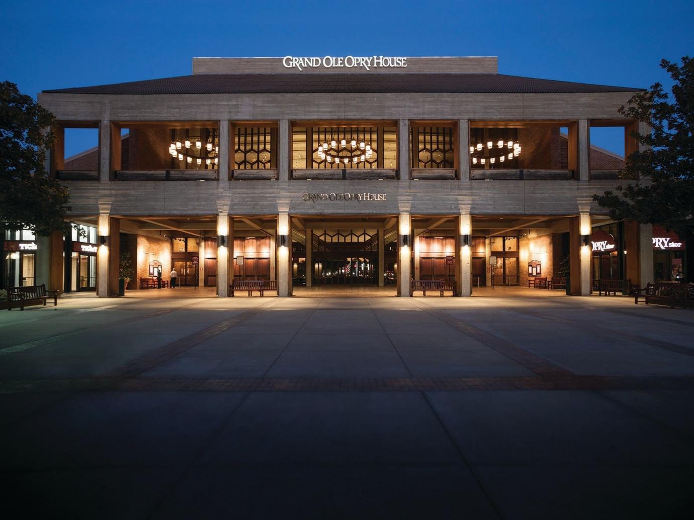 Grand Ole Opry at night