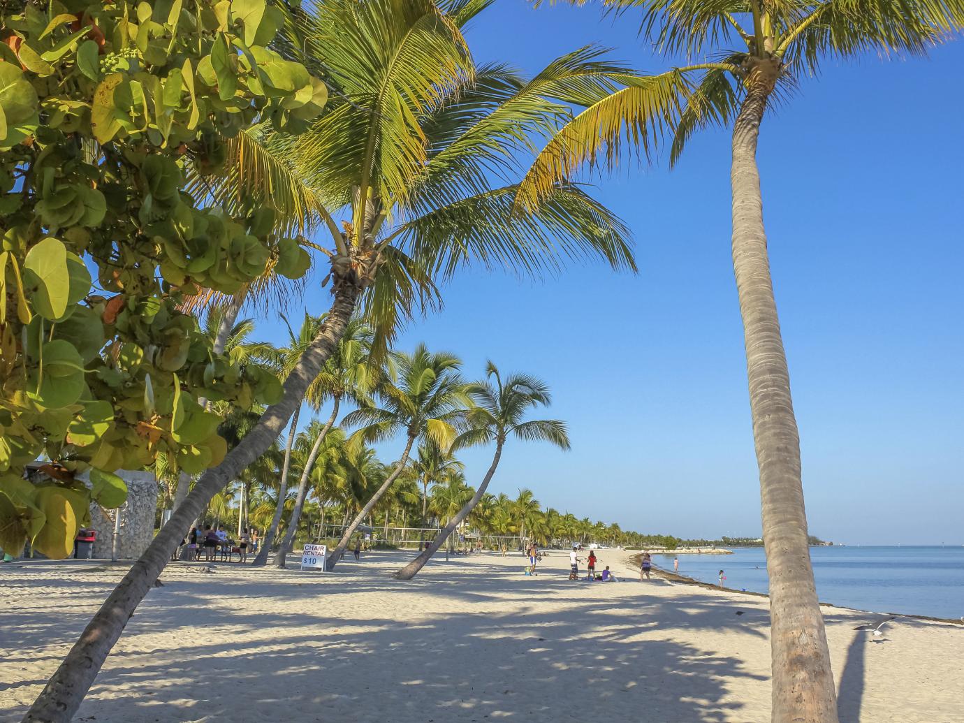 Smathers Beach in Key West