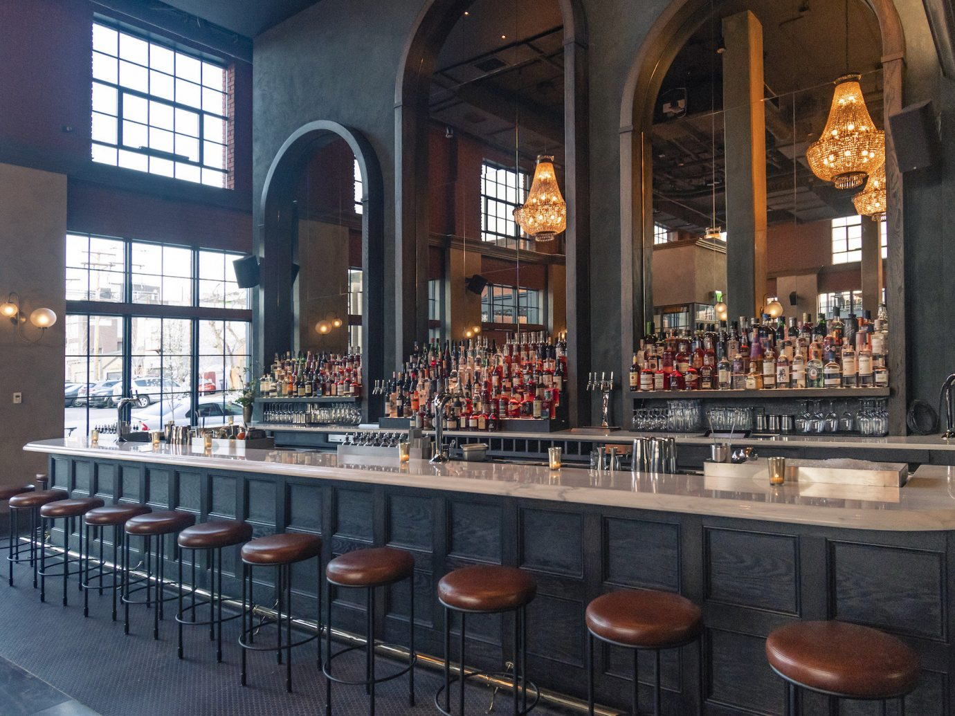 Bar at The Ramble Hotel in Denver