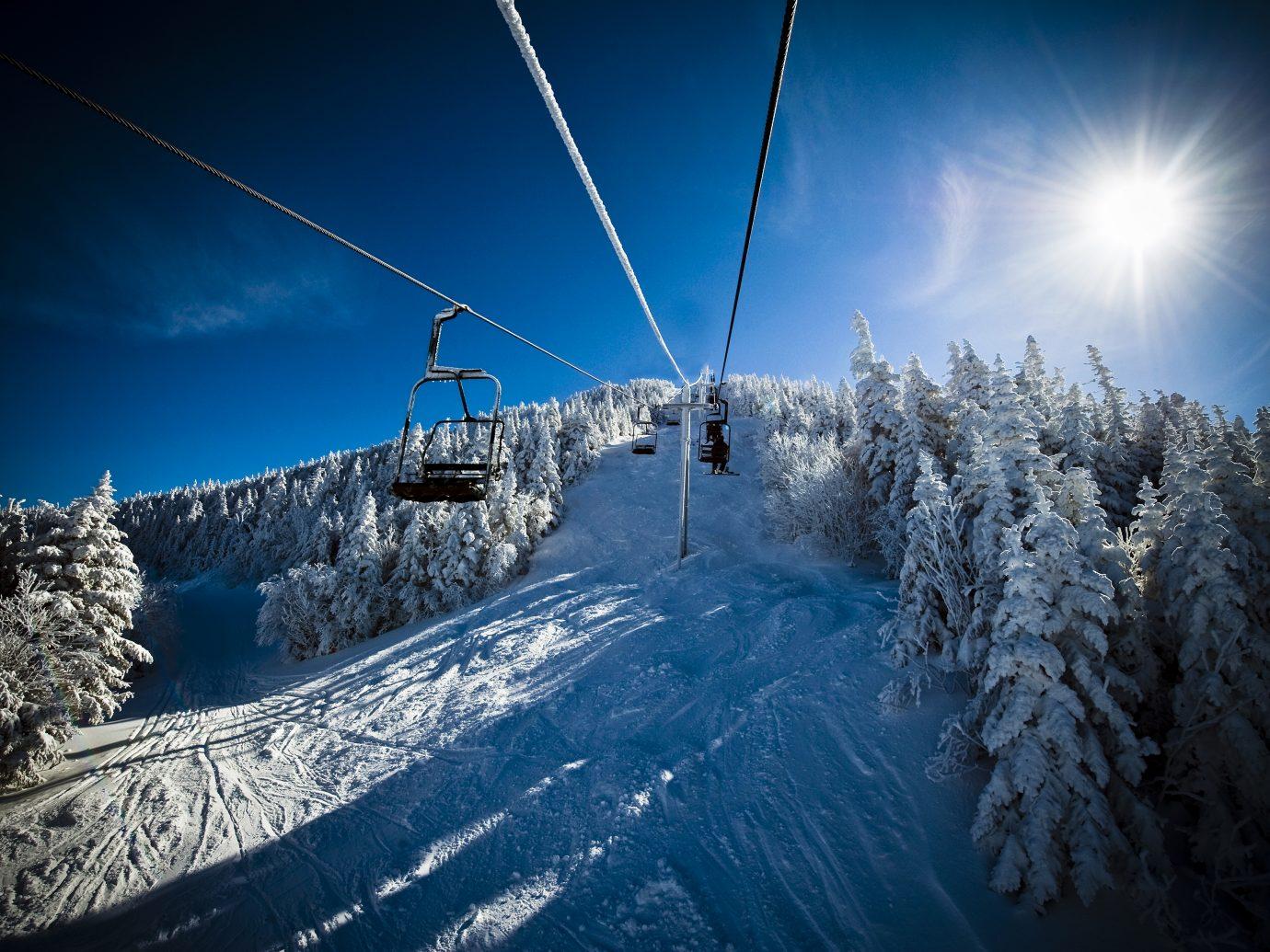 Ski lift at Smuggler's Notch