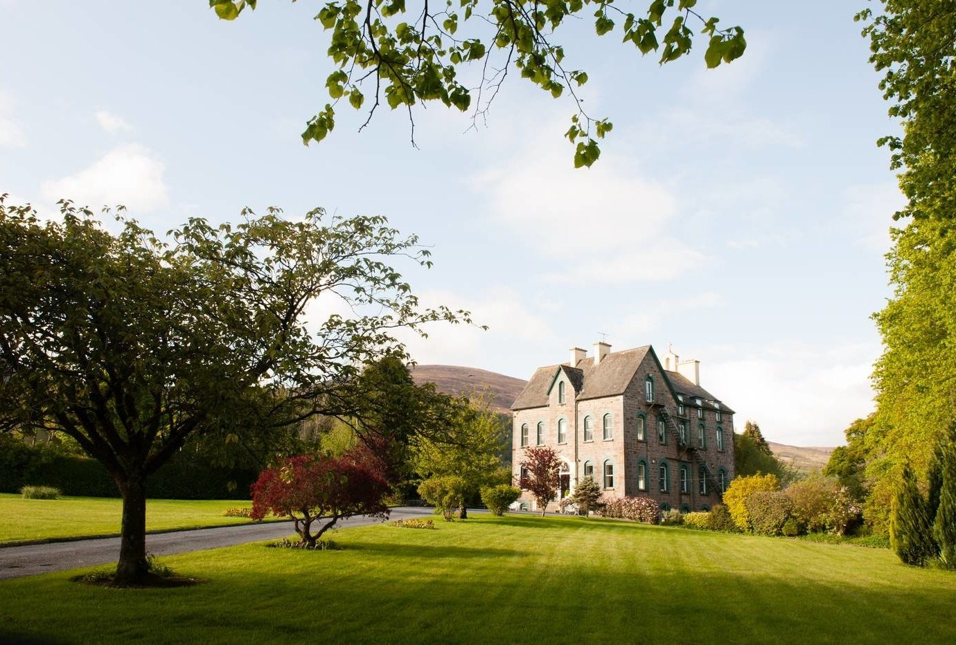 View of The Old Convent in Ireland