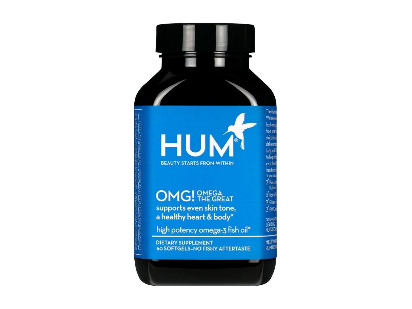 HUM Nutrition OMG! Omega The Great Supplements